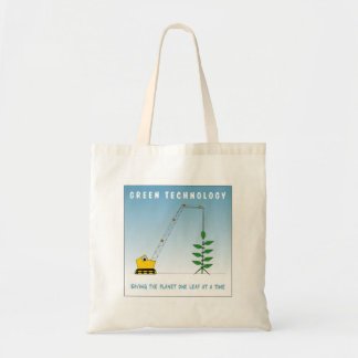Green Technology Tote Bag