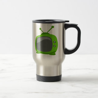 Green Television Coffee Mugs