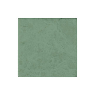 Green Template Stone Magnet