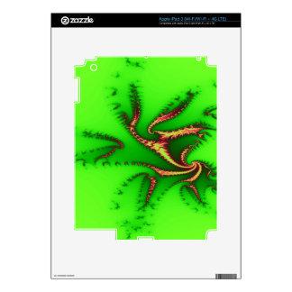 Green tentacles of joy decals for iPad 3