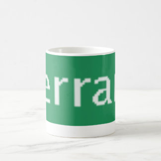 Green Terran Lies Logo Coffee Mug