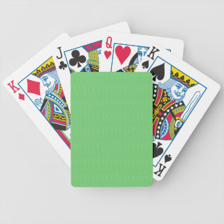 Green Texture Blank Template DIY add TEXT IMAGE 99 Bicycle Playing Cards