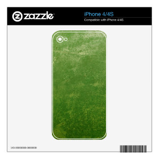 Green Texture iPhone 4S Decal