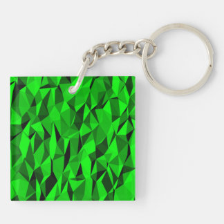 Green texture keychain