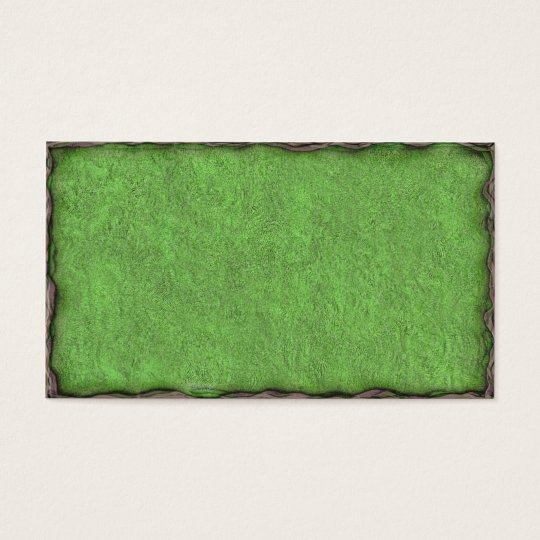 Green Textured Card with Border
