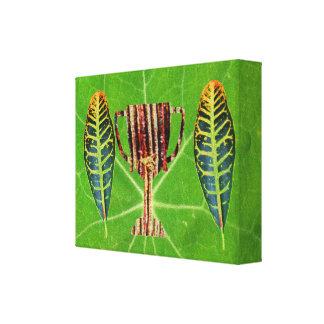Green Theme  Award  -  Fashion Art Canvas Print