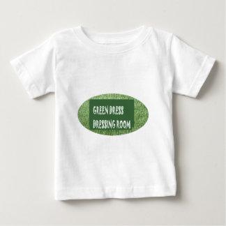 Green Theme Dressing Room Shirts Slogan Quote