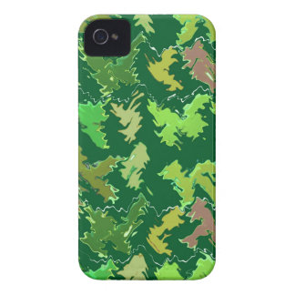 Green Theme : Military Camouflage Wave Pattern iPhone 4 Cover