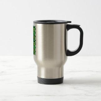 Green Theme : Military Camouflage Wave Pattern Mugs