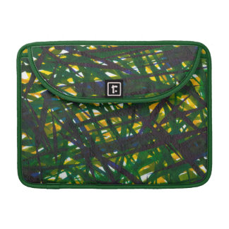 Green Thicket II Sleeve For MacBook Pro