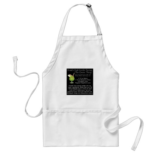 Green Thing Recipe Adult Apron
