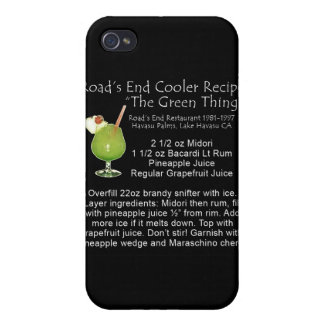 Green Thing Recipe Covers For iPhone 4