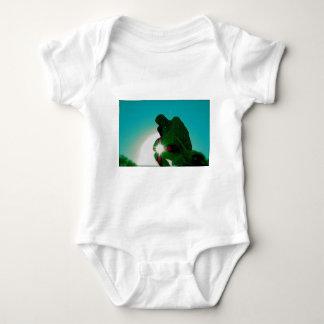 Green Thinker by jammer Baby Bodysuit
