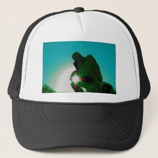 Green Thinker by jammer Trucker Hat
