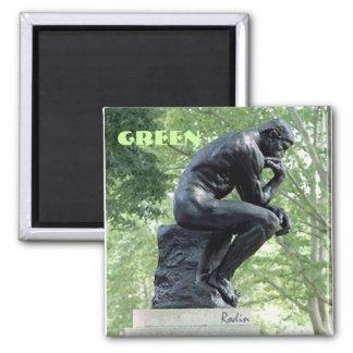 Green Thinker Magnet