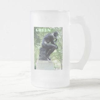 Green Thinker Mug