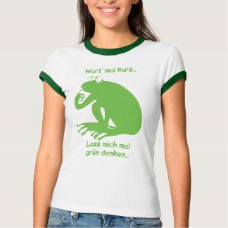 Green thinking shirt