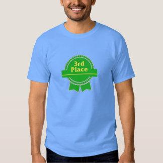 Green Third Place Ribbon Shirt