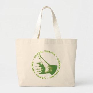Green Thumb Canvas Bag