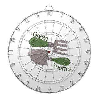 Green Thumb Dartboard With Darts