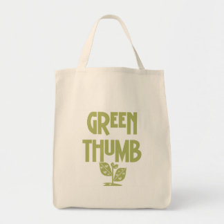 Green Thumb Gardening T-shirts and Gifts Tote Bag