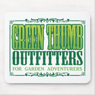 Green Thumb Outfitters Logo Mouse Pad