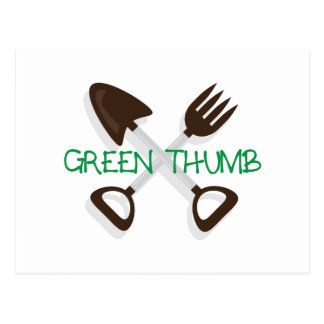 Green Thumb Postcard