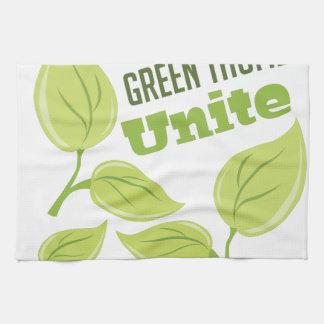 Green Thumbs Towel