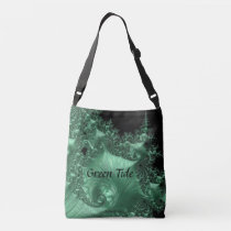 Green Tide - Environment themed shoulder Tote Bag