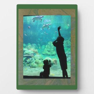 Green Tie Dye Fun Frame Plaque