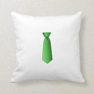 Green Tie Pillows