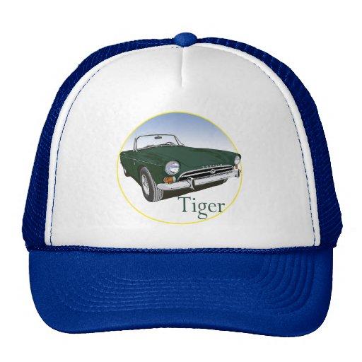 Green Tiger Trucker Hat