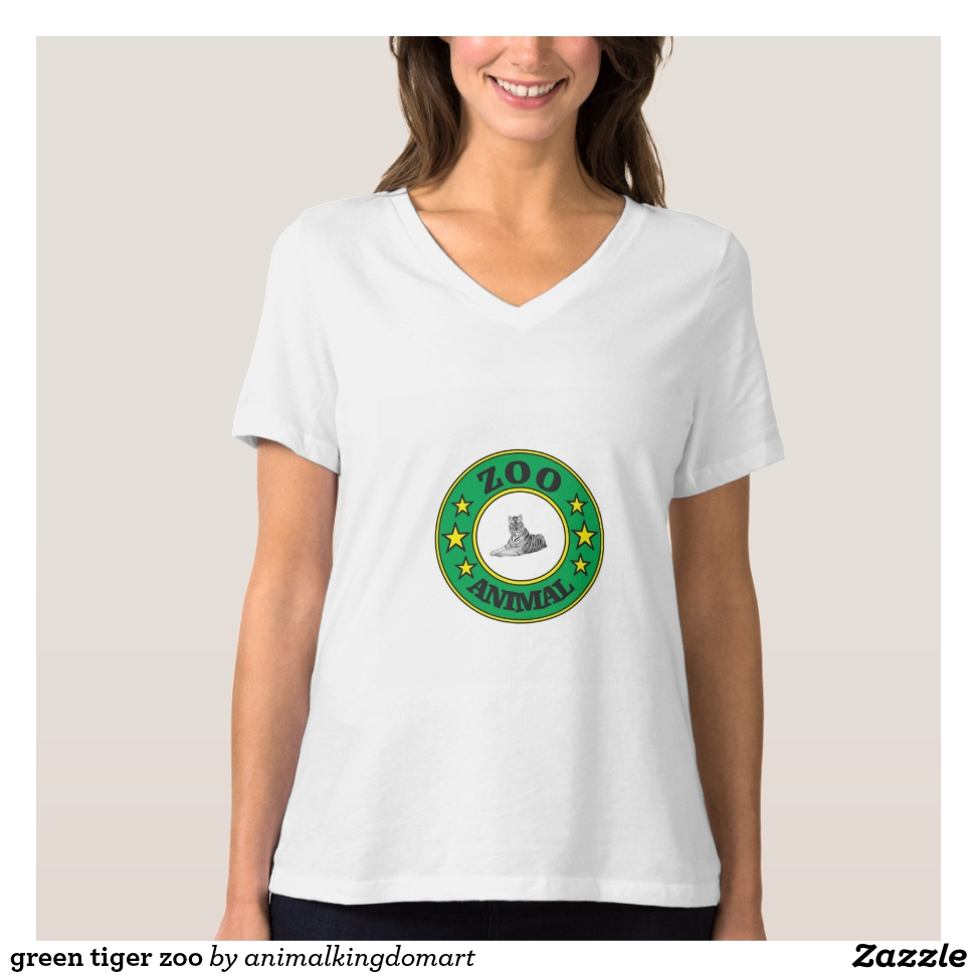 green tiger zoo T-Shirt - Best Selling Long-Sleeve Street Fashion Shirt Designs