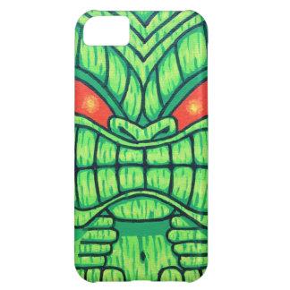 Green Tiki iPhone 5 Case