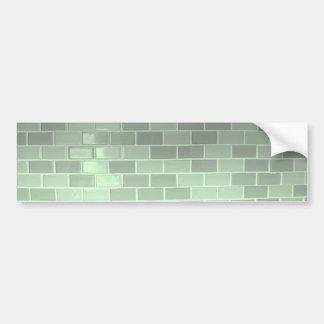Green Tile Photography Bumper Sticker