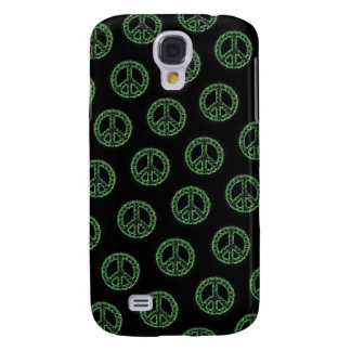 Green Tiled Peace IPhone 3 Case