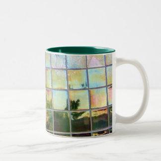 green tiles coffee mugs