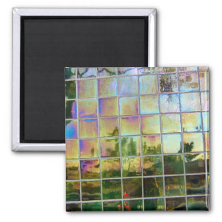 green tiles magnets