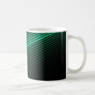 Green Tiles Coffee Mug
