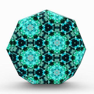 Green Tilly Lace Acrylic Award