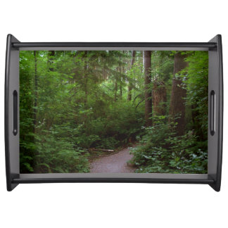 Green Timbers BC Salal Trail 4a Serving Tray