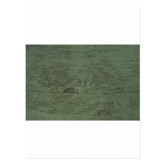Green Tinted wood grain background Postcard