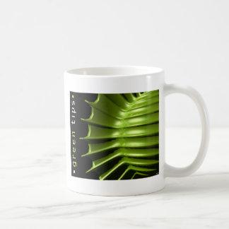 Green Tips Coffee Mug