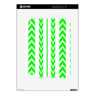 Green Tire Tread iPad 2 Decals