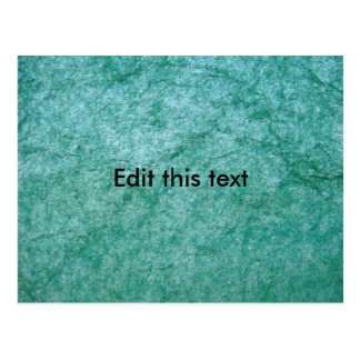 Green Tissue Paper Post Cards