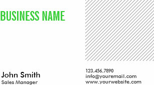 Sales engineer business cards templates zazzle green title sales manager business card colourmoves