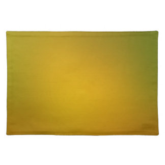 Green to Gold Gradient Placemat