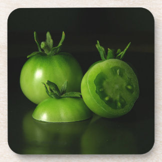 Green Tomato Drink Coaster