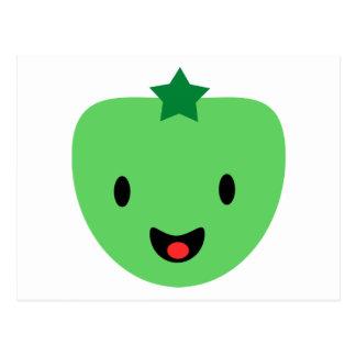 Green tomato post card