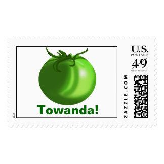 Green Tomato, Towanda! Stamps